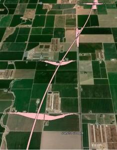 California High-Speed Rail through Kings County