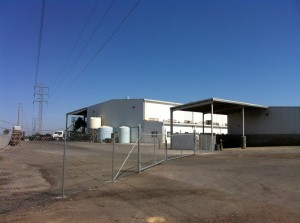 Baker Commodities in Hanford - Demolition Target for California High-Speed Rail Authority